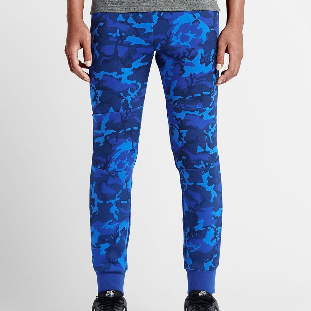 Men's Faded Blue Nike Joggers | Life Style Sports