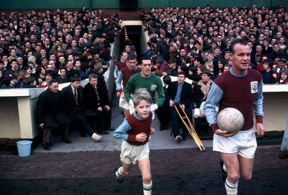 Burnley FC Start A Game In The 1960's