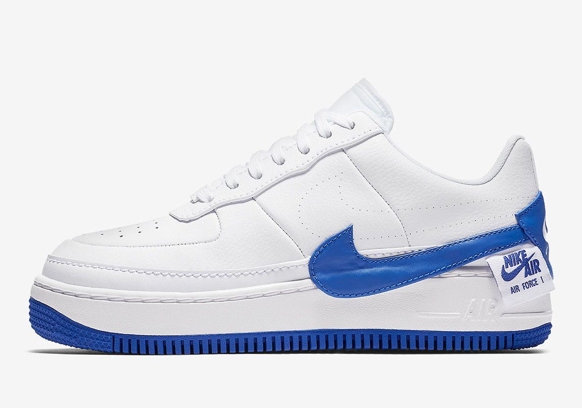 grande vente 70f25 6c596 Nike Air Force 1 Homme Blanc Bleu | nike | Sneakers nike ...