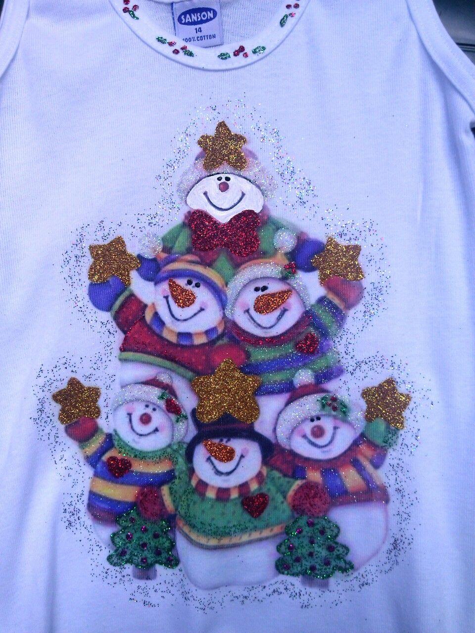 Estampados Imagenes De Franelas Decoradas De Navidad Elegantes Unas