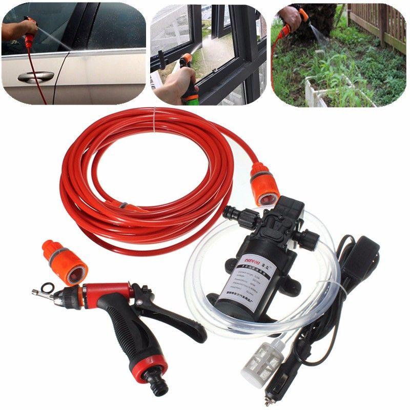 60W High Pressure Selfpriming Electric Car Portable Wash