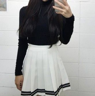 What To Wear With Tennis Skirts Glam Radar American Apparel Tennis Skirt Tennis Skirt Outfit Fashion