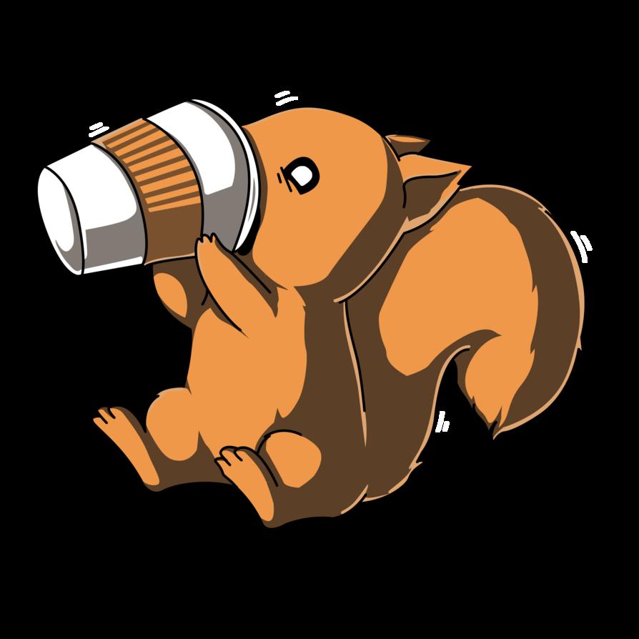 Coffee Squirrel Squirrel art, Squirrel, Cute squirrel