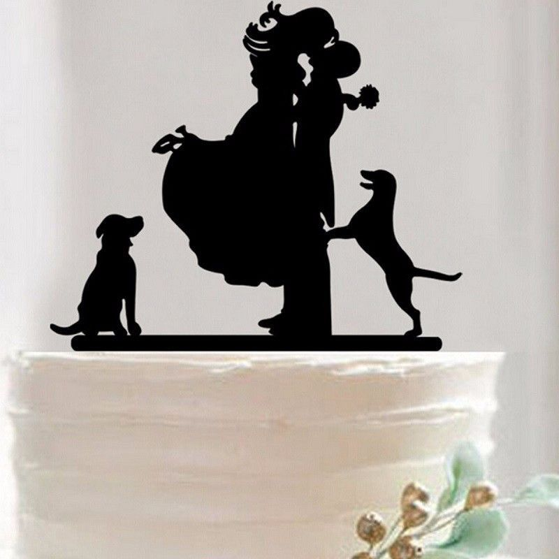 Bride And Groom Only Wedding Ideas: Wedding Cake Topper -Anniversary Cake Decoration (Bride
