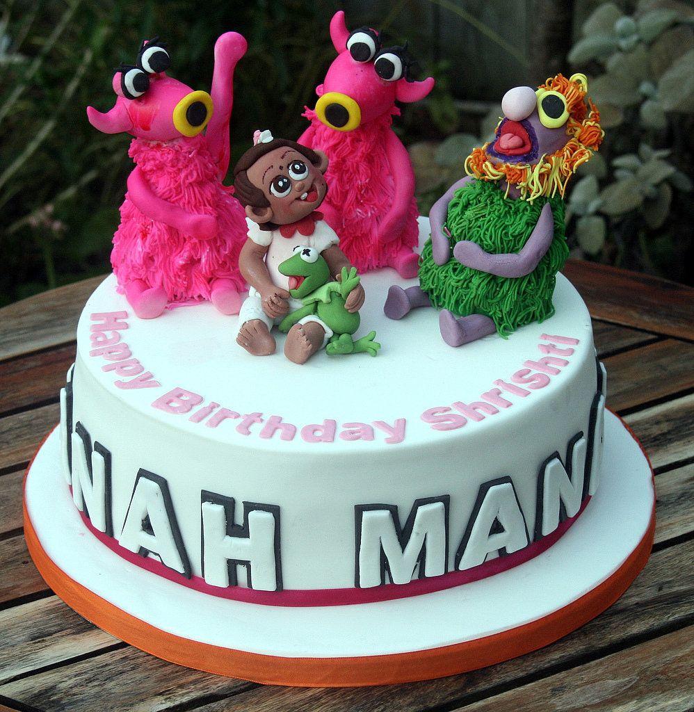 Fine Mahna Mahna Beautiful Birthday Cakes Birthday Cake Happy Personalised Birthday Cards Vishlily Jamesorg