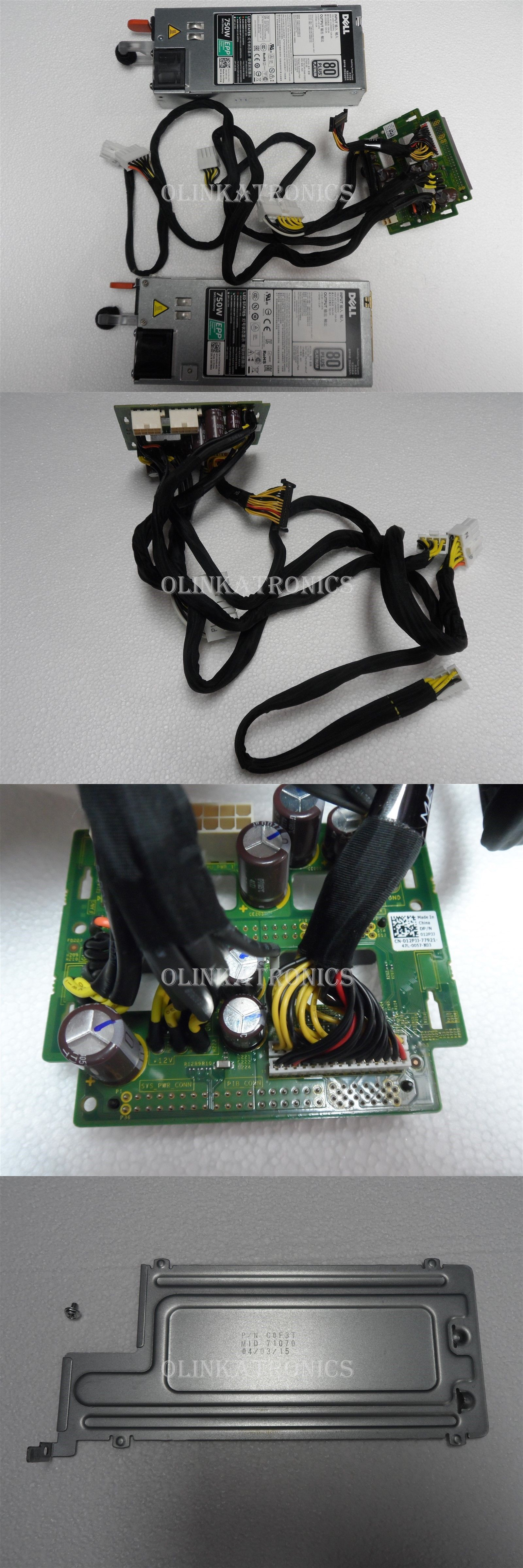 Dell Dual Hot Swap Power Supply 750w Distribution Board Poweredge Server T430 Distribution Board Power Supply Server