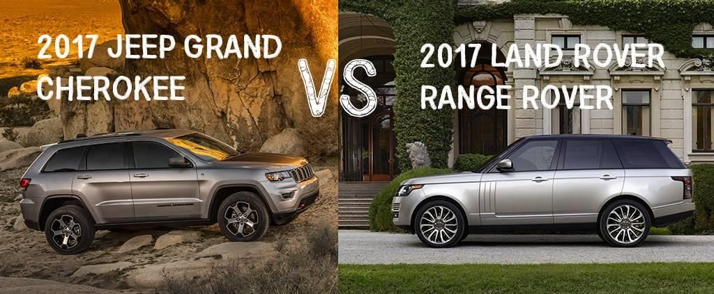 Luxury Suvs Jeep Grand Cherokee Srt V Land Rover Range Rover