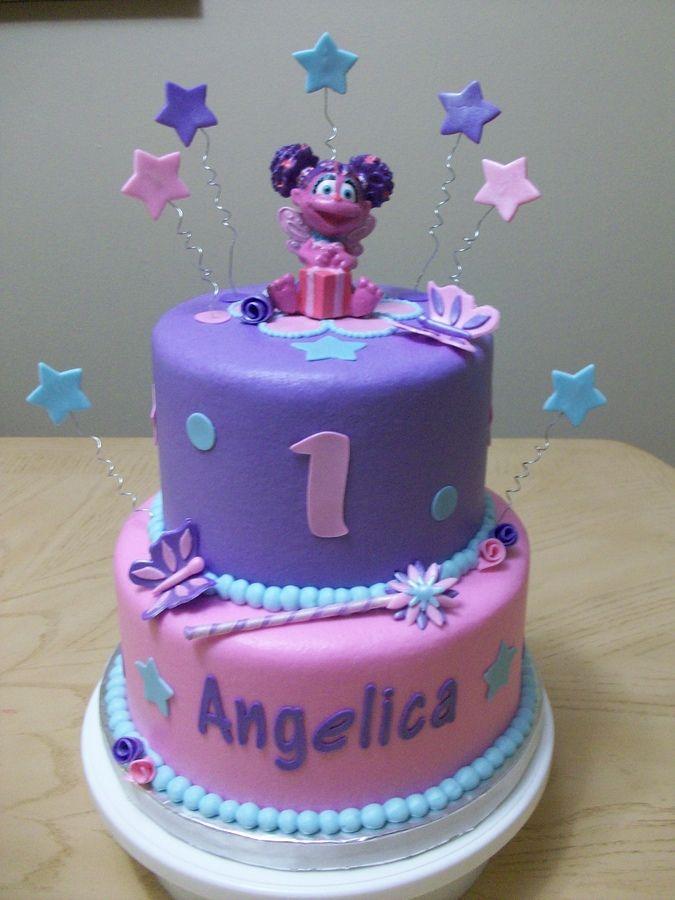 Astounding Jpeg Abby Cadabby Birthday Cake Image Cakepins Com Childrens Personalised Birthday Cards Veneteletsinfo