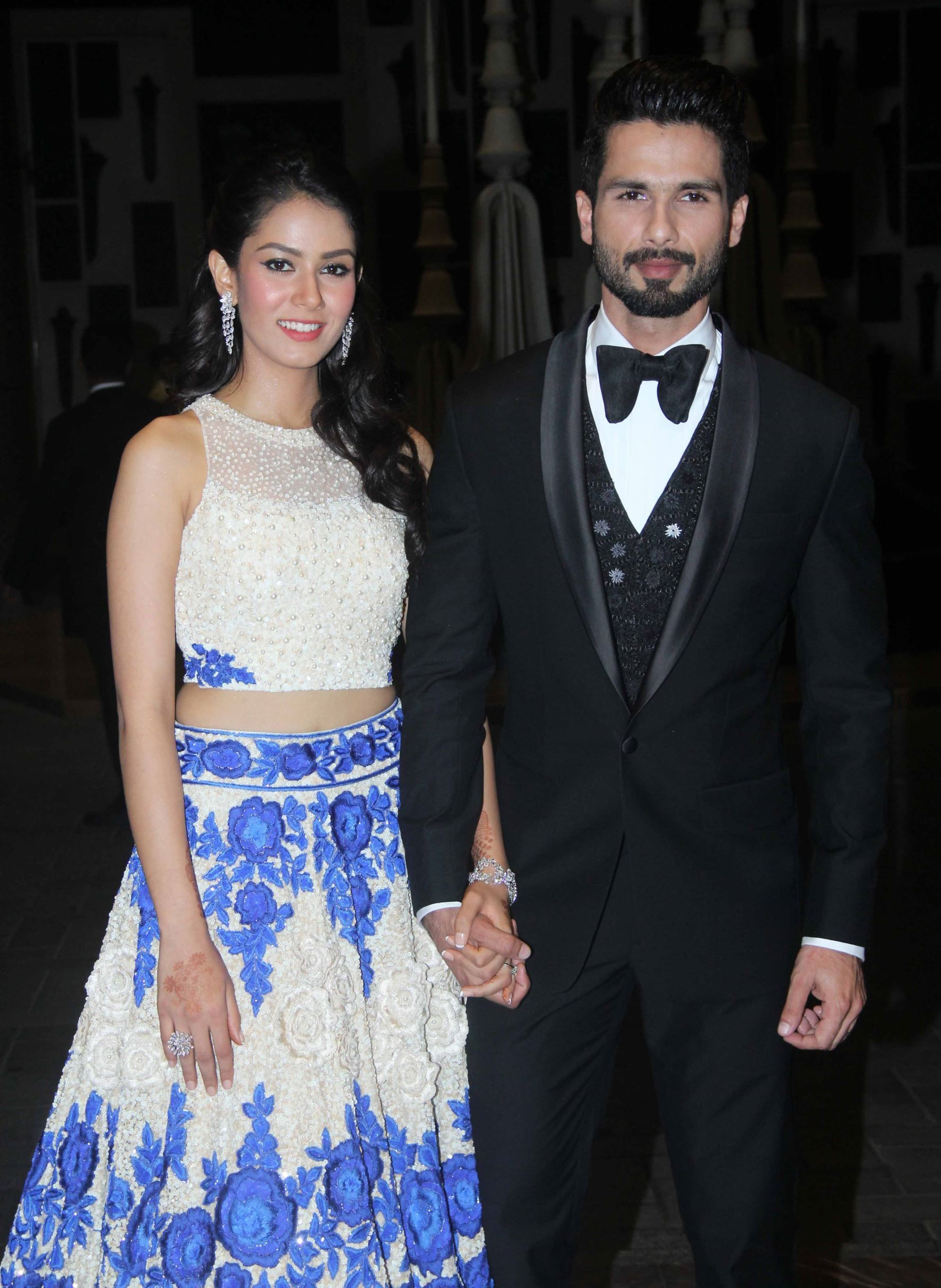 Shahid Kapoor S Wedding Reception Shahid Kapoor Wedding Indian Dresses Dresses