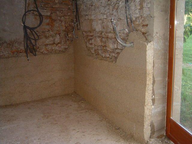 enduit chaux et chanvre | salon | pinterest | construction and house