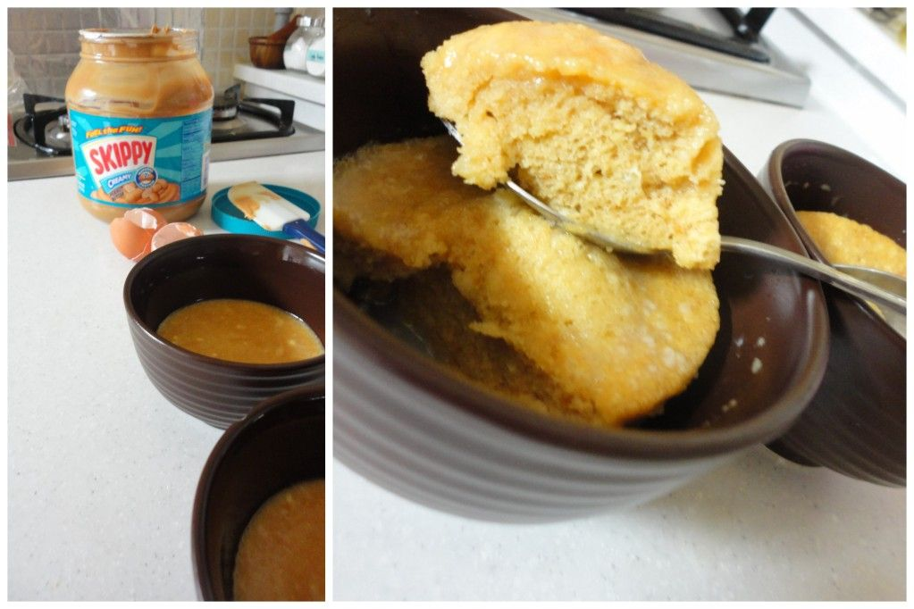 peanut butter microwave cake and easy dessert desserts microwave cake