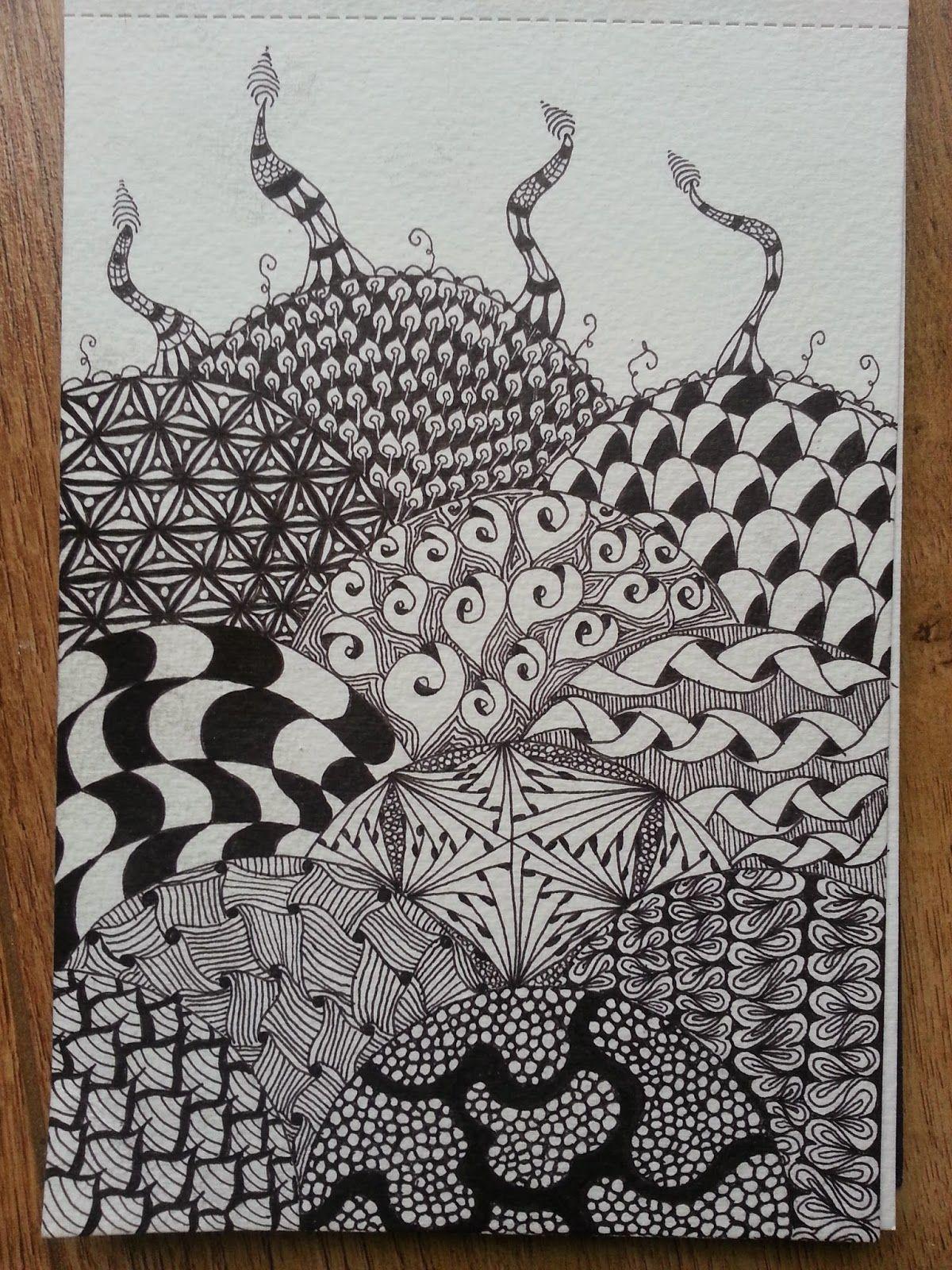 Zentangle....