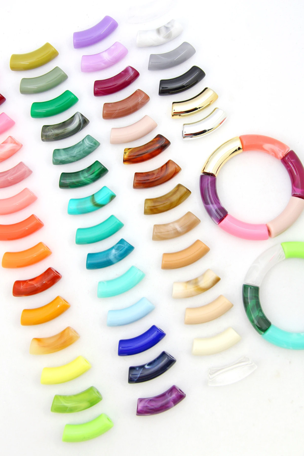 13++ Curved tube beads for jewelry making ideas in 2021