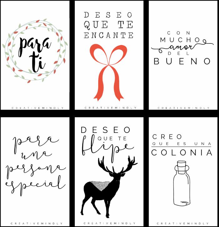 Etiquetas de navidad gratis para tus regalos imprimibles for In regalo gratis