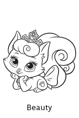 Disney S Princess Palace Pets Free Coloring Pages And Printables Palace Pets Coloring Pages Disney Coloring Pages