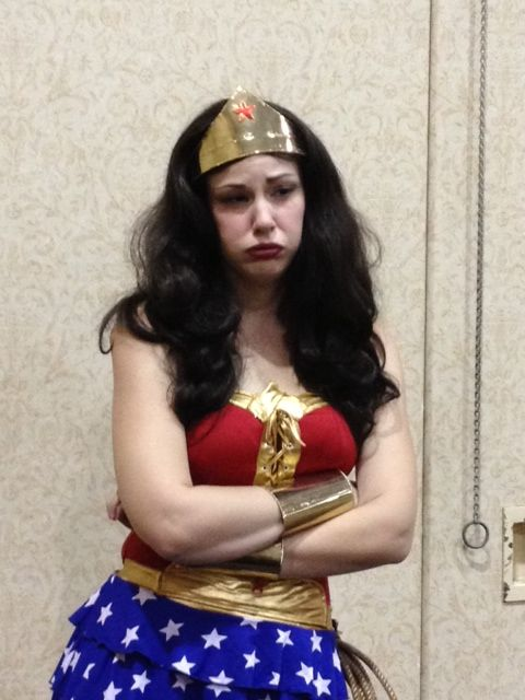 Kat Sheridan Wonder Woman Cosplay