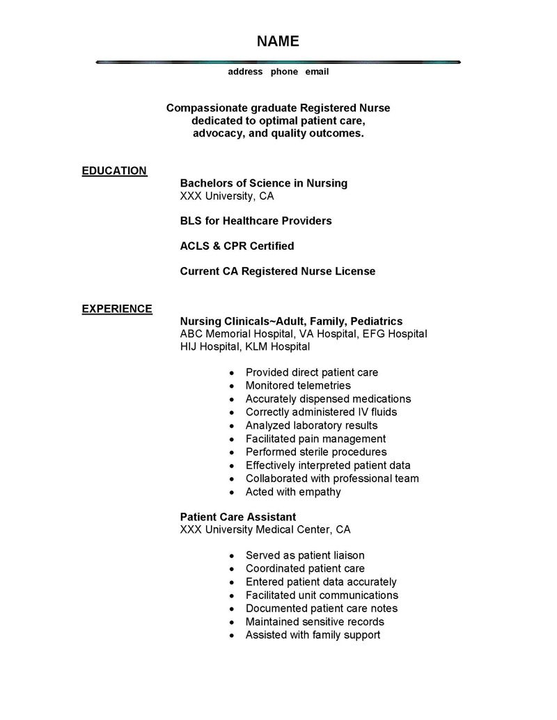 Examples Of Nursing Resumes Writer Dissertationbecome A More Productive And Creative Writer