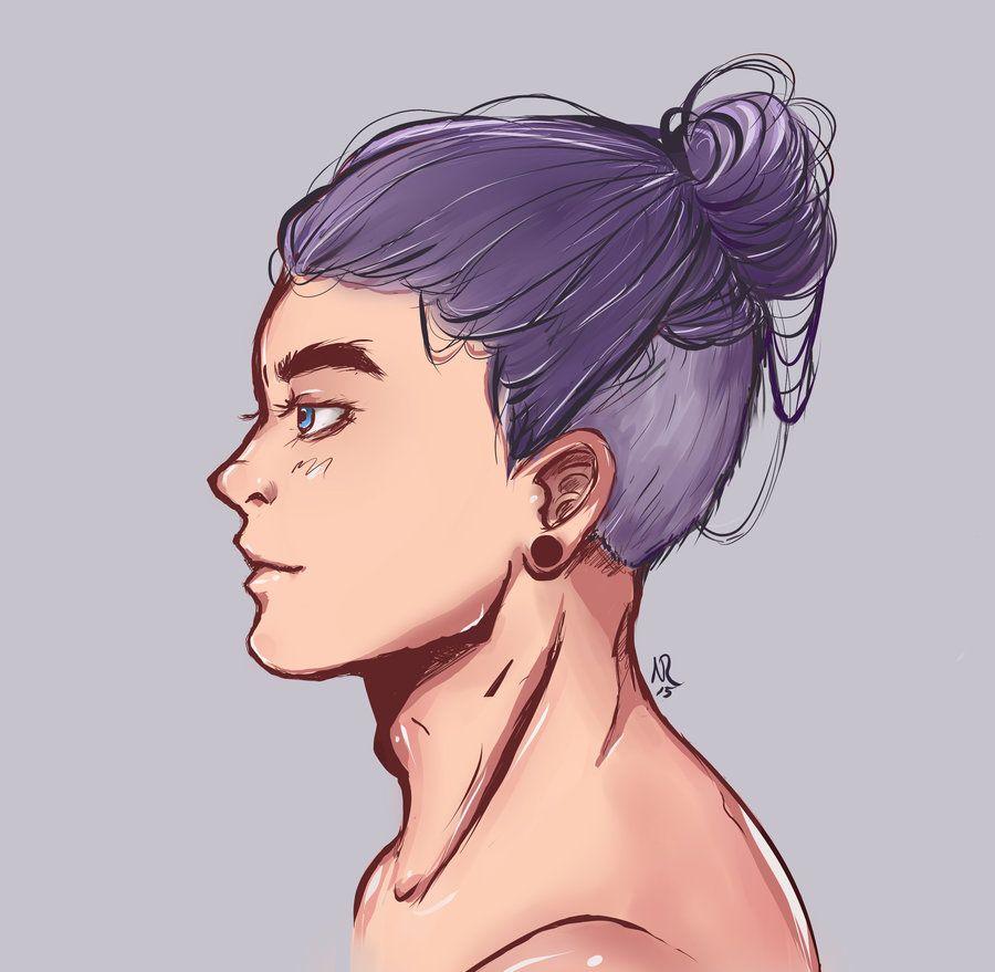 Modern Trunks Anime Boy Hair Boy Hair Drawing Hair Illustration