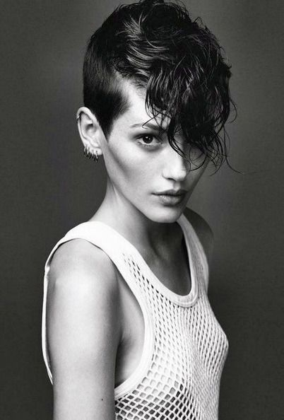 Swell 1000 Images About Hair Envy On Pinterest Hairstyles Undercut Short Hairstyles Gunalazisus