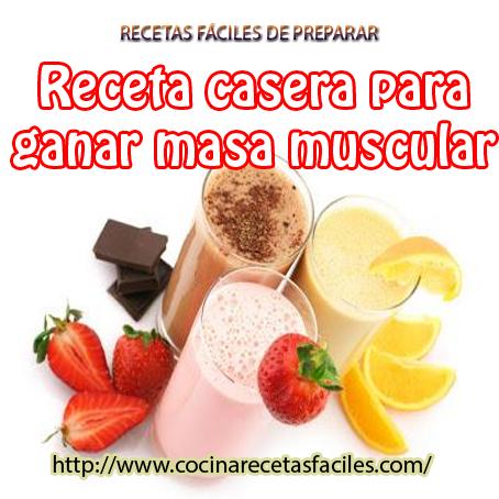 5 Batidos Caseros Para Ganar Masa Muscular Batidos Para Masa Muscular Batido Proteinas Casero Batidos Caseros