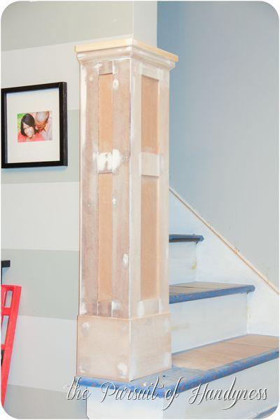 DIY Stair Wainscoting Honeybear Lane How To Wainscot Stairs