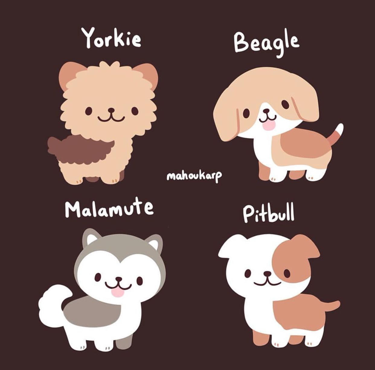 Dogs Are Great Mahoukarp Imagenes De Perros Animados Dibujos
