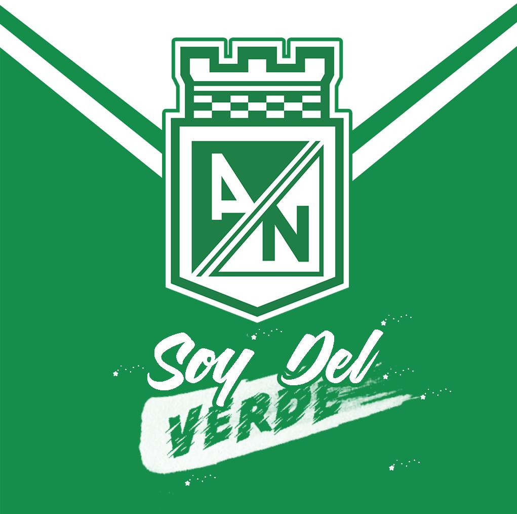 Soy Del Verde Atletico Nacional Medellin Club Atletico Nacional Atletico Nacional