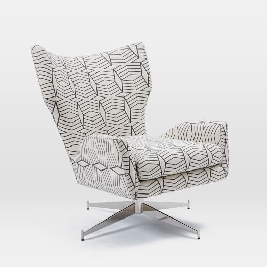 Best Hemming Swivel Armchair Upholstered Chairs Comfy 640 x 480