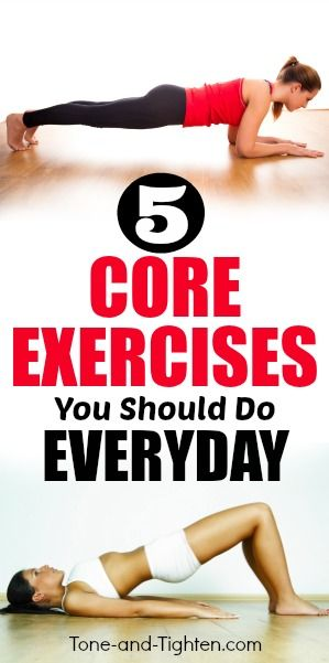 5 Core Exercises You Should Do Everyday