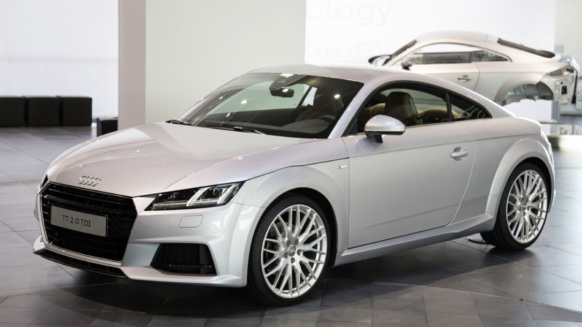 The amazing new audi tt is one of the most high tech cars ever made