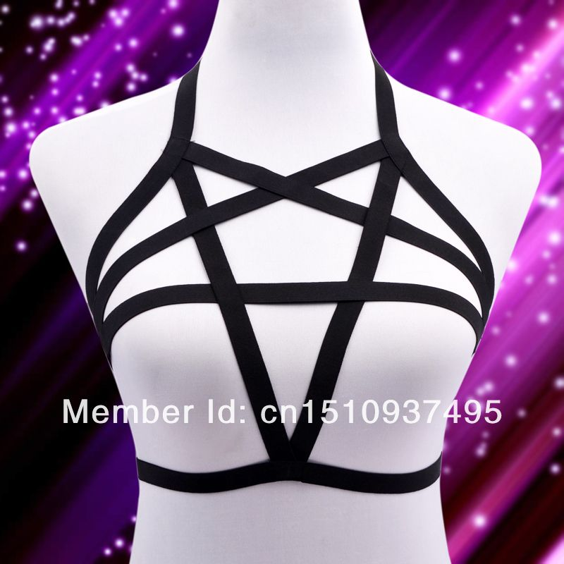 2014 New Free Shipping Pentagram Harness Body Cage 02-in ...