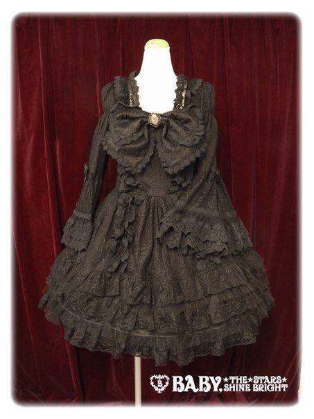 AATP Lace Noir Dress « Lace Market: Lolita Fashion Sales and Auctions