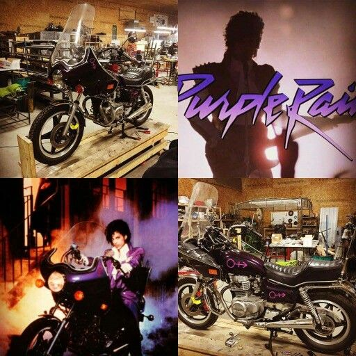 Replica Of The Purple Rain Bike To Be On Display At The Donnie