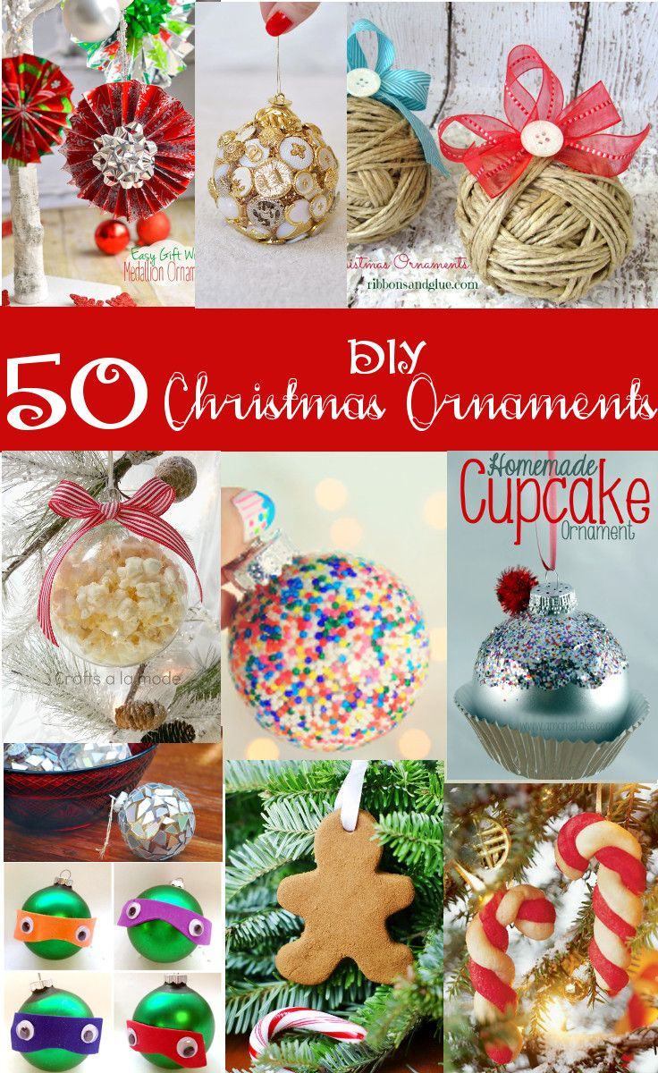 50 diy christmas ornaments beautiful and fun to make by yourself or 50 diy christmas ornaments beautiful and fun to make by yourself or with kids solutioingenieria Choice Image