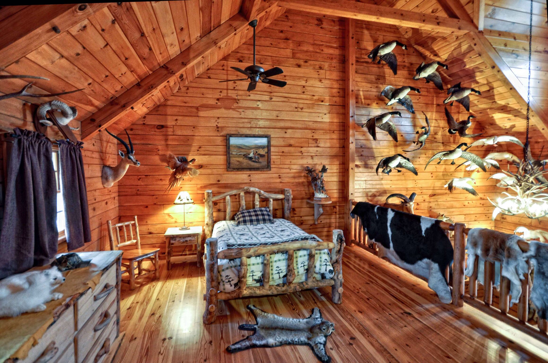 Hunting Cabin Interior Do It Yourself Hunting Cabins: Bird Mounts. In 2019
