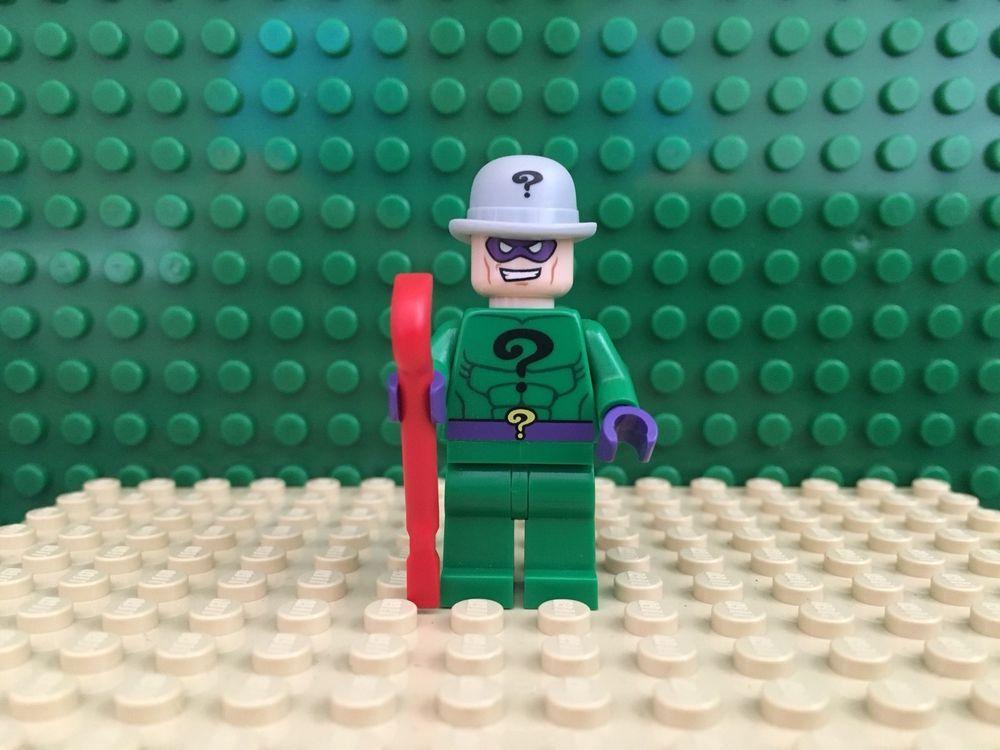 LEGO The Riddler minifigure DC Superheroes Super villain