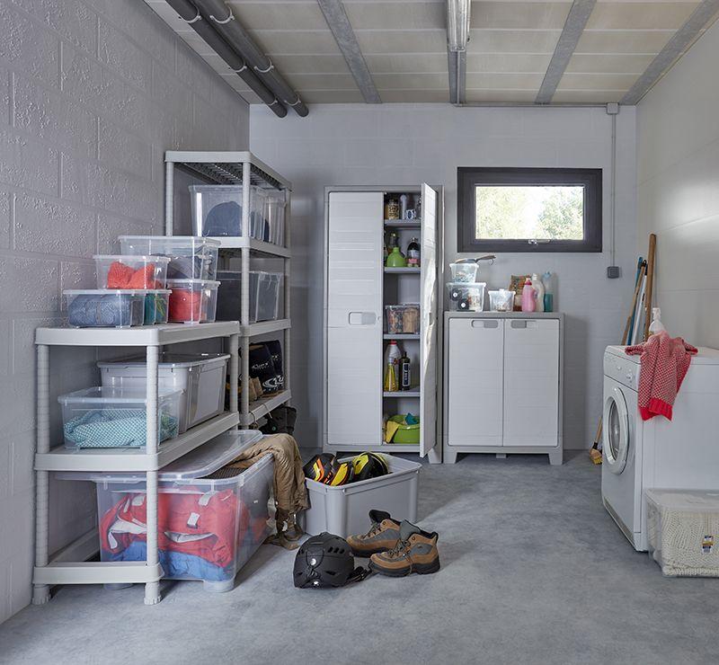 avec les rangements utilitaires optimisez l 39 organisation de votre garrage de votre atelier ou. Black Bedroom Furniture Sets. Home Design Ideas