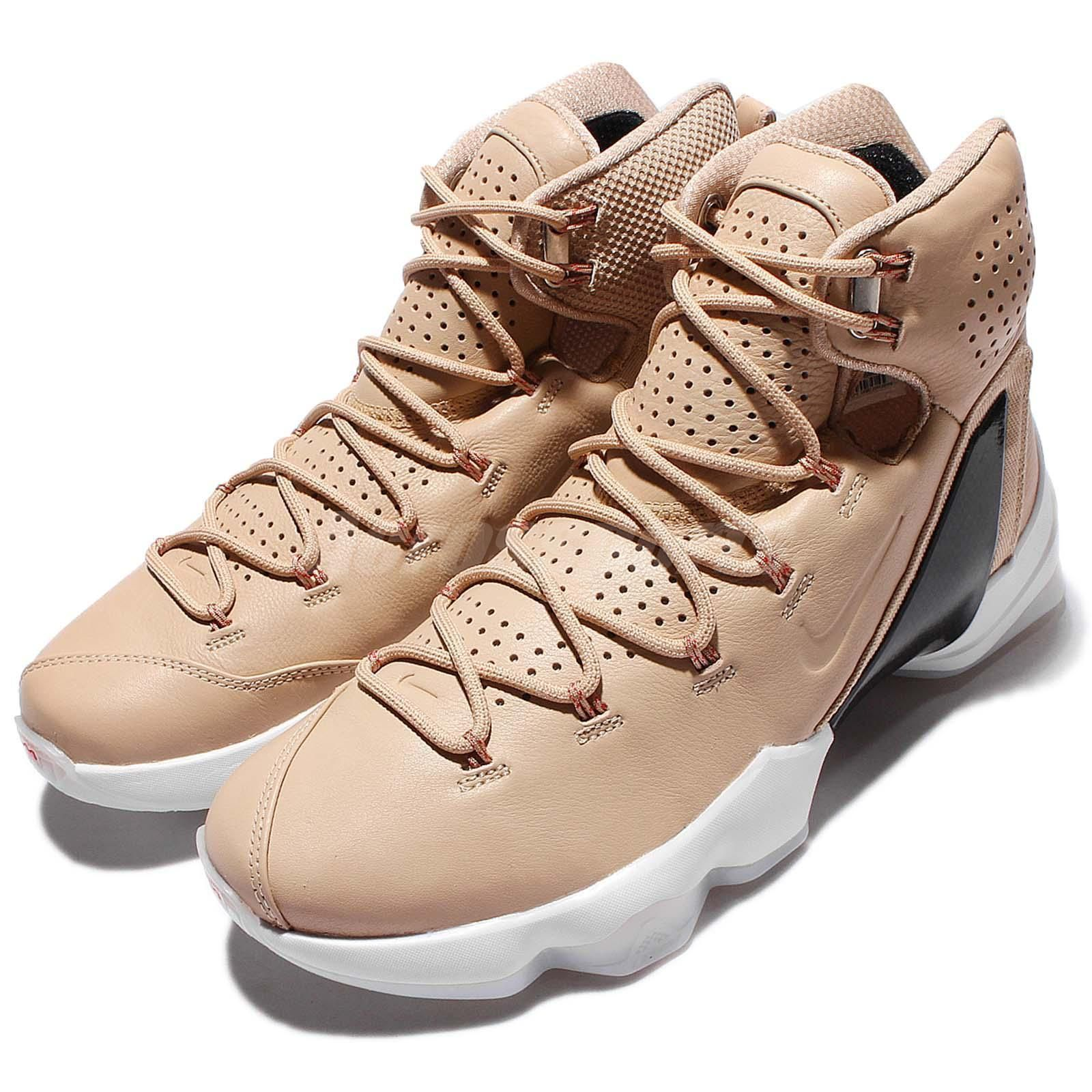 huge selection of df2fb 49bcb Nike Lebron XIII Elite lb EP 13 James Playoffs Linen Mens Basketball 876806  299…