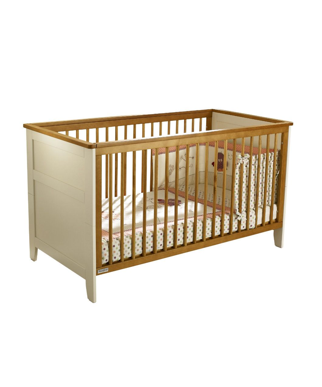 Stratford 4 Piece Nursery Furniture Set Vanilla Pine Sets Mothercare