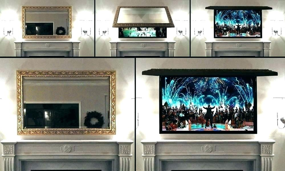 Flat Screen Tv Wall Mount Picture Frame Covers A Frames Cover