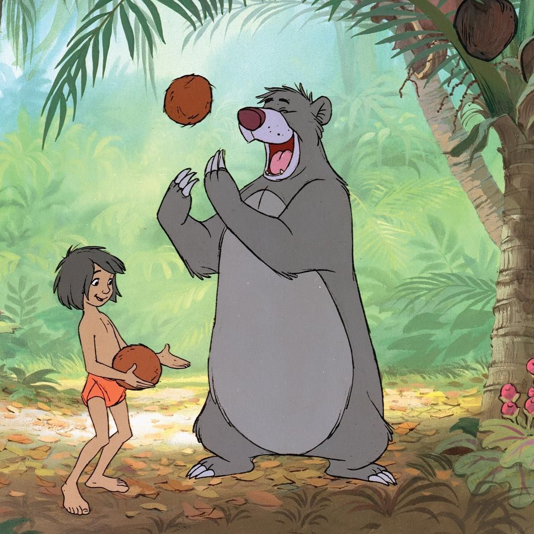 "ee4581c8696 Gefällt 967 Mal, 5 Kommentare - Disney D23 (@disneyd23) auf Instagram: ""Look  for the bare necessities! The #JungleBook debuted on this day in 1967 🌴🐻"""