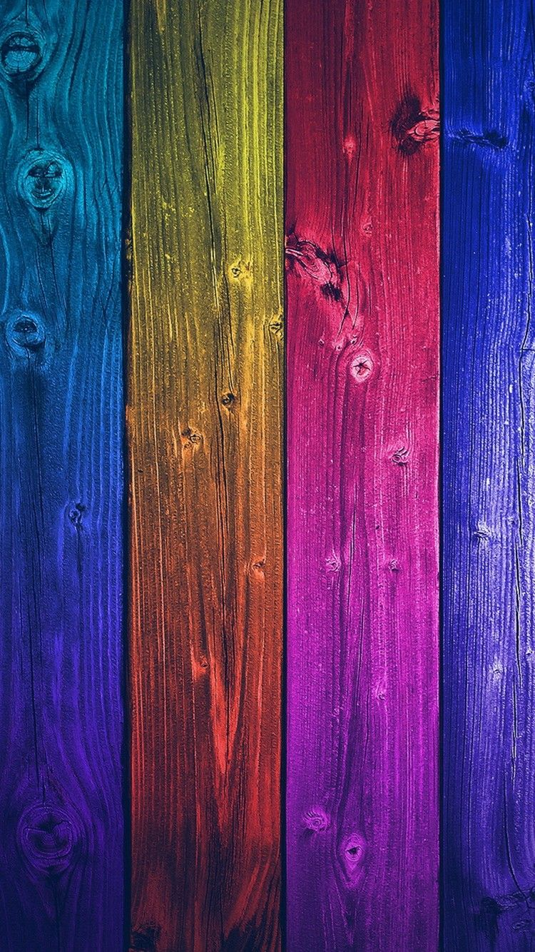 Colorful Wood Tiles Vertical 4k Hd Android And Iphone Wallpaper
