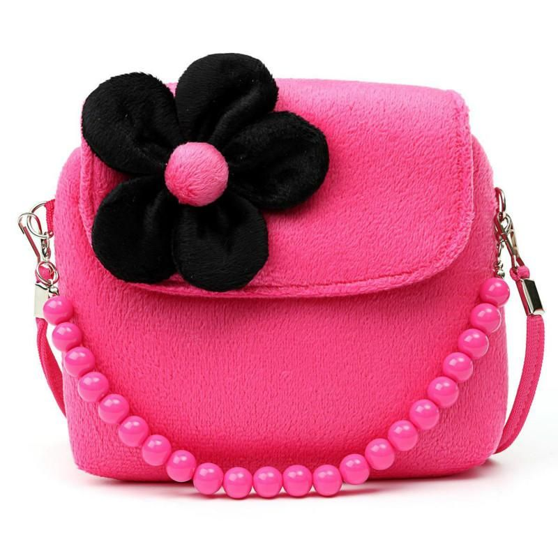 Visit to Buy  Lovely Baby Girls Mini Messenger Bag Cute Plush Cartoon Kids  Baby 3681c4aac5a18