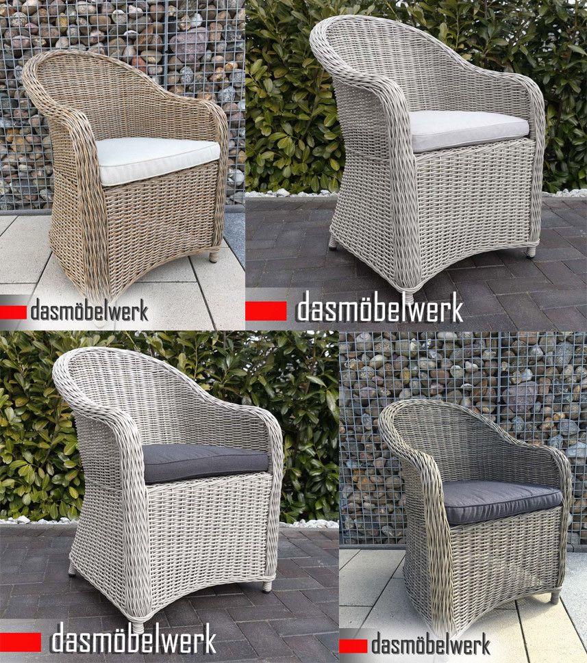 Polyrattan Hochlehner Relax Dining Sessel Gartenmobel Stuhl Panama