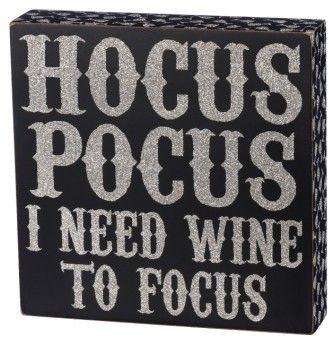 primitives by kathy hocus pocus box sign halloween - Primitives By Kathy Halloween