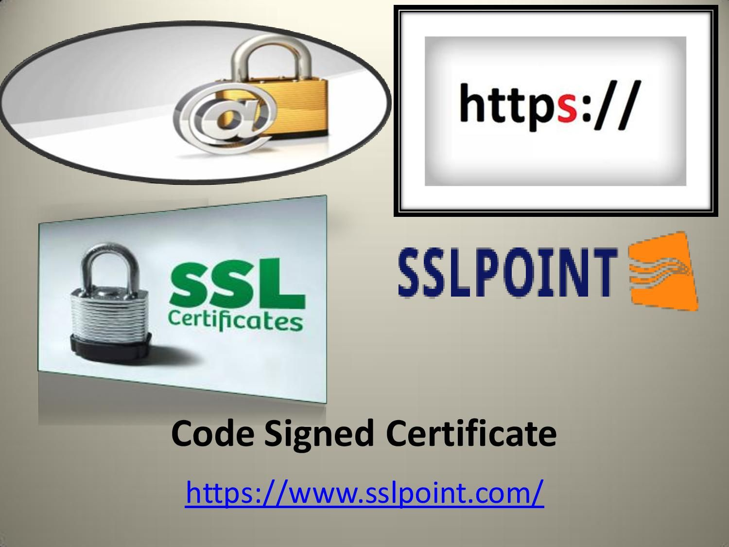 Best information about code signed certificate httpswww sslpoint offers a wide selection of cheap ssl certificates from industry leading certificate authorities with ultra fast issuance 1betcityfo Images