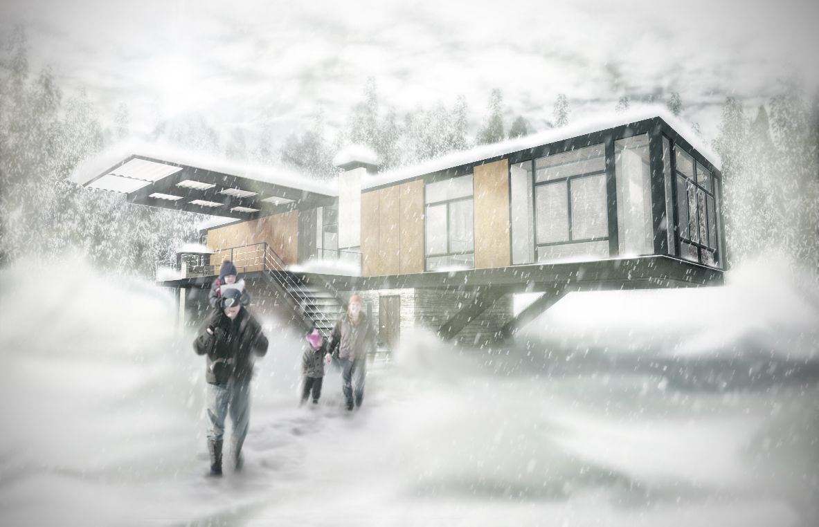 Snow Rendering Google 搜尋 Architecture Rendering