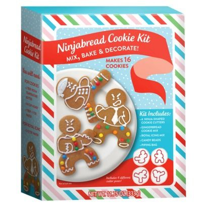 Ninjabread Cookie Kit 11 75 Oz Available At Target 4 99 And Five