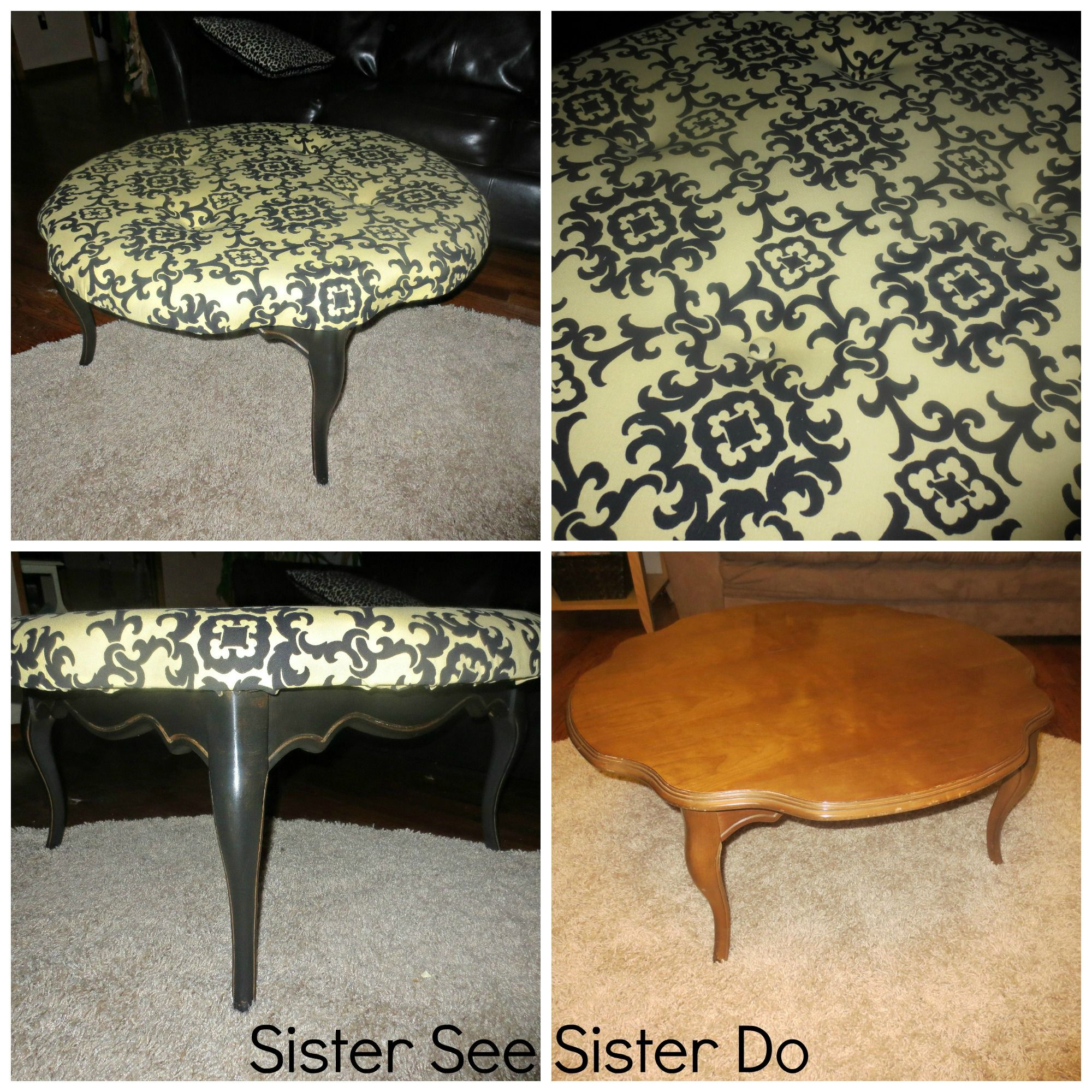 Gentil Coffee Table Ottoman By Sister See Sister Do
