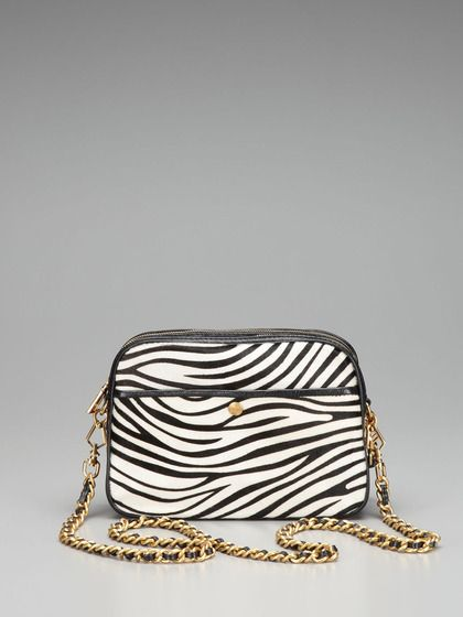 Zebra Haircalf Rumor Crossbody by Rebecca Minkoff on Gilt.com